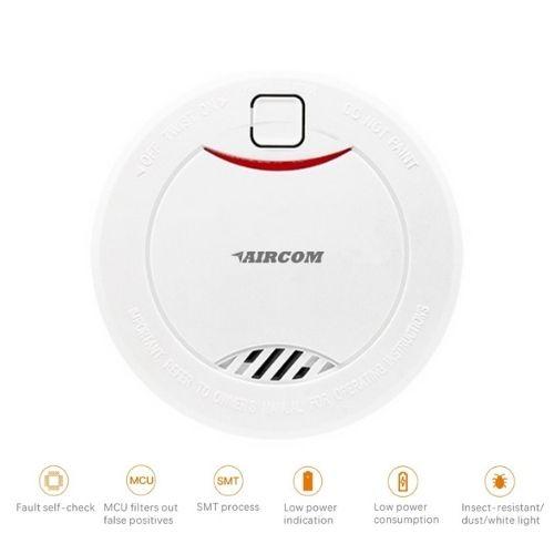 Aircom-AC-38SPSD-Standalone-Photoelectric-Smoke-Detector-device